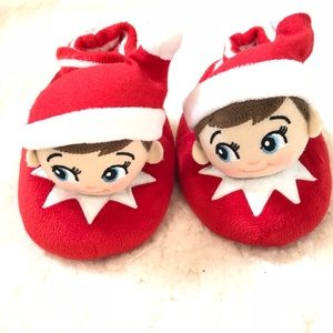 Other - Elf on the shelf 7-8 slippers